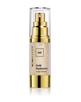 24K GOLD HYALURONIC SERUM 1
